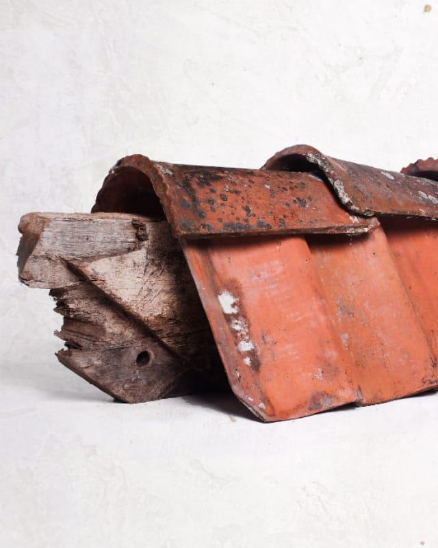 Historische Baustoffe für exklusive Bauvorhaben - Dachziegel
