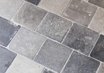 Historischer Kotto blau – grau – braun in 4 Formaten_5