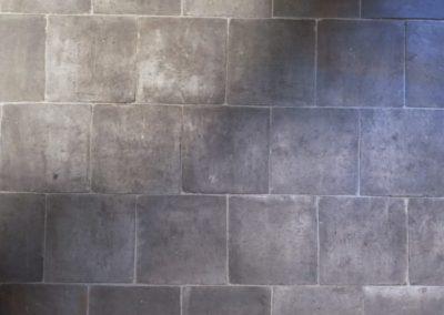 Kotto braun – grau handgefertigt 17 x 17 cm oder 22 x 22 cm