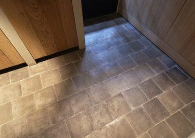 Kotto braun – grau handgefertigt 17 x 17 cm oder 22 x 22 cm_1