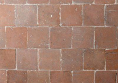 Terrakotta historisch orange - rot 16 x 16 cm und auch lieferbar in 20 x 20 cm
